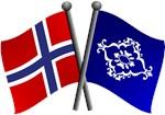 Norwegian Friendship Flags