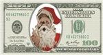 Santa 100 Dollars