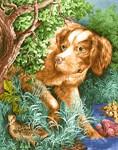 Vintage Hunting Dog