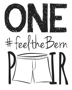 1Pair #feeltheBern
