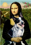 MONA LISA<br>& Australian Cattle Dog