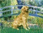 LILY POND BRIDGE<br>& Golden Retriever