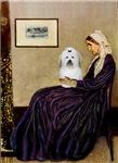 WHISTLER'S MOTHER<br>& Coton de Tulear