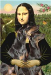 MONA LISA<br>& Doberman PInscher Pair
