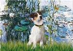 LILIES<br>& Jack Russell Terrier