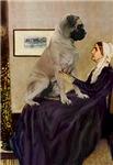 WHISTLER'S MOTHER<br>& Bull Mastiff