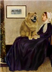 WHISTLER'S MOTHER<br>& Chow Chow