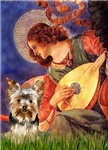 ANGEL WITH MANDOLIN<br>& Yorkshire Terrier