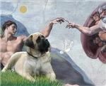 CREATION OF MAN<br>& Bull Mastiff