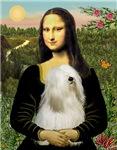 MONA LISA<br>& White Tibetan Terrier