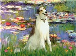 WATER LILIES<br>& Borzoi