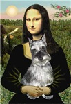 MONA LISA<br>Miniature Schnauzer (cropped ears)#1