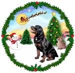 SANTA'S TAKE OFF #1<br> & Rottweiler #6