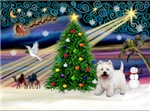 CHRISTMAS MAGIC<br>& West Highland Terrier