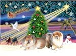 CHRISTMAS MAGIC<br>& 2 Chow Chows