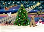CHRISTMAS MAGIC<br>& Lakeland Terrier