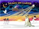 CHRISTMAS SUNRISE<br>& Borzoi
