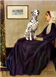 WHISTLERS MOTHER<br>&Dalmatian #1