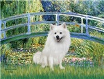 LILY POND BRIDGE<br>&Eskimo Spitz #1