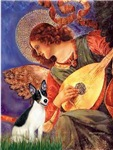 MANDOLIN ANGEL<br>& Rat Terrier
