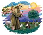 St. Francis #2 &<br>French Bulldog (brindle)