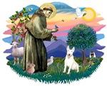 St. Francis #2 &<br> Bull Terrier #4