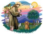 St. Francis #2 &<br>Dachshund (LH Sable)