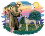 St. Francis #2 &<br> Sloughi