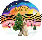 Christmas Music #2<br>Wire Fox Terrier (#3)