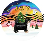 CHRISTMAS MUSIC #2<br>Puff Chinese Crested (BT)