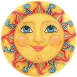 Sun Face #3 - Summer
