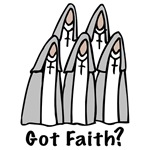 Catholic Nun T-shirts, Got Faith Tshirts, Gifts