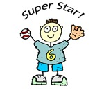 Kids Super Star Baseball T-shirts & Gifts