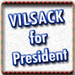 Tom Vilsack for President T-shirts Swag