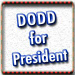 Chris Dodd T-shirts, Stickers, Buttons