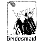 bridesmaid t-shirts