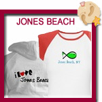 Jones Beach T-shirts, Sweatshirts and Beach Bags
