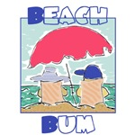Beach Bum T-shirts, Clothes and Beach Gifts