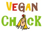 Vegan Chick T-shirts, Bags, Gifts, Mugs