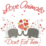 Love Animals Dont Eat Them Shirts, Products