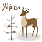 Ahimsa Holiday T-shirts and Gifts