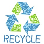 Recycle T-shirts, Buttons and Gifts