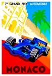 Monaco 7th Grand Prix Auto Race
