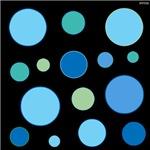 OYOOS Blue dots design