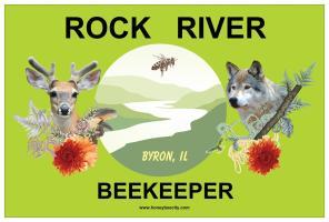 Byron, IL Rock River Beekeeper
