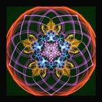 5 Elements Inspired Mandala