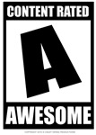Content Rated Awesome