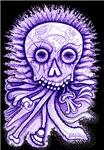 Purple Singing Skull