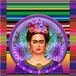 Frida with Serape