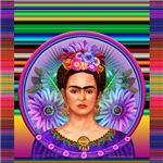 Frida with Serape